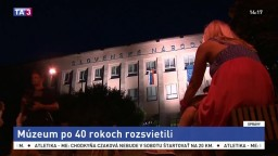 Budova múzea v Martine sa rozsvietila, pomohla verejná zbierka
