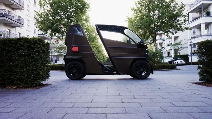 Mini elektromobil iEV X mení veľkosť podľa vašich potrieb