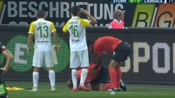 Futbalový rozhodca skončil s rozbitou hlavou, klubu hrozí trest
