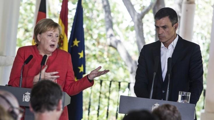 A. Merkelová: Migráciu EÚ zvládne, krajiny však musia držať spolu