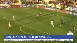 Ligový šláger nemá víťaza, DAC s Ružomberkom remízoval