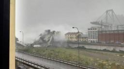 V Taliansku sa zrútil diaľničný most, predpokladajú desiatky mŕtvych