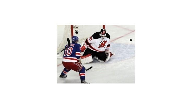Gáboríkov gól Rangers nepomohol, Devils sa ujali vedenia v sérii
