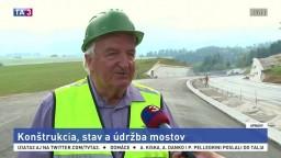 J. Bujňák o príčinách zrútenia mosta v Janove a jeho údržbe