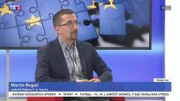 ŠTÚDIO TA3: M. Reguli o rokovaní o brexite v Bruseli