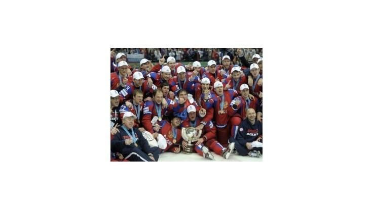 Ruskí majstri sveta dostanú po vzore NHL zlaté prstene