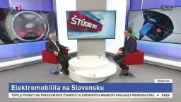 ŠTÚDIO TA3: V. Mihálik o elektromobiloch na Slovensku