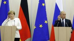 Merkelová o schôdzke s Putinom: Nemajte veľké očakávania