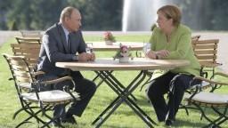 Merkelová sa stretla s Putinom, diskutovali o Ukrajine aj Sýrii