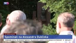 V Slávičom údolí spomínali na odkaz Alexandra Dubčeka
