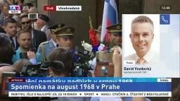 D. Vozdecký o spomienke na august 1968 v Prahe