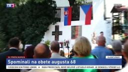 August 68 si pripomenuli po celom Slovensku, pamätníkov ubúda