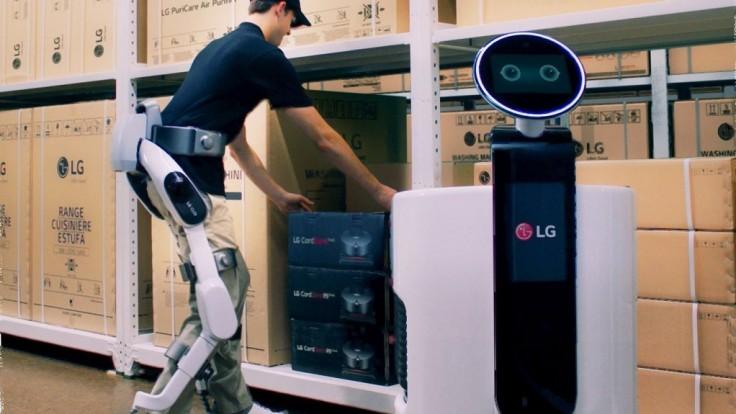 LG chystá novú éru nositeľných robotov pre uľahčenie práce