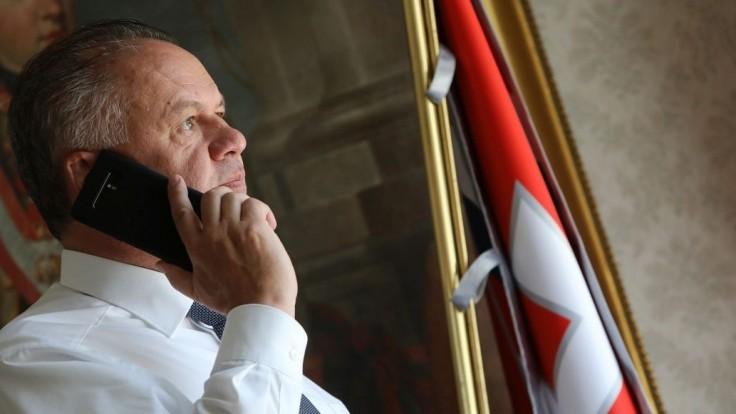 Kiska telefonoval s prezidentom Ukrajiny, hovorili aj o Sencovovi