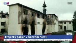 Pri požiari hotela zasahovala stovka hasičov, hlásia mŕtvych
