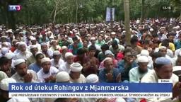 Osud Rohingov je stále nejasný, žijú v neľudských podmienkach
