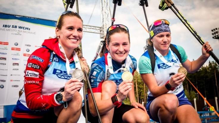 Fialková vybojovala na MS v letnom biatlone ďalšiu medailu