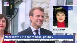 A. Vrbovská o Macronovej vízii zahraničnej politiky Francúzska