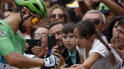 Sagan bojoval o víťazstvo, v tretej etape Vuelty skončil tretí