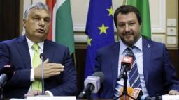 Orbán sa stretol so Salvinim, nazval ho hrdinom