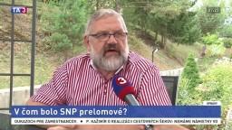 S. Mičev o význame Slovenského národného povstania