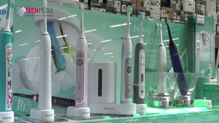 Elektrické zubné kefky Philips Sonicare citlivo čistia zuby s pomocou zvuku