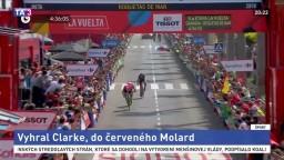 Clarke vyhral s kŕčmi piatu etapu, do červeného sa obliekol Molard