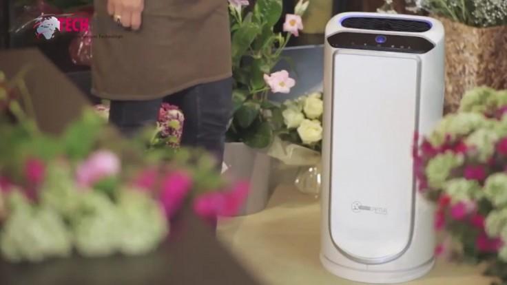 Intenzívna čistička vzduchu, ktorá účinne prefiltruje takmer všetky škodliviny