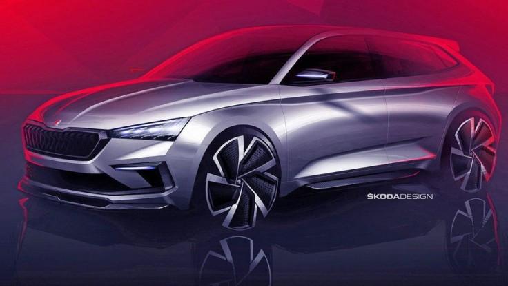Koncept Škoda Vision RS naznačuje, ako bude vyzerať nový Rapid