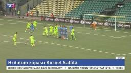 Slovan vyhral v Žiline, skóroval sviatočný strelec Saláta