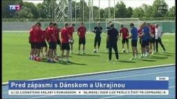Reprezentácia sa pripravuje na stretnutie s Dánmi a Ukrajincami
