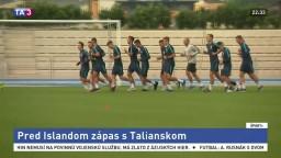 Futbalovú 21 čaká pred Islandom prípravný zápas s Talianskom