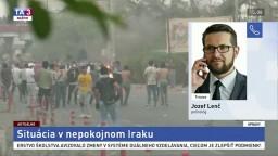 Politológ J. Lenč o situácii v nepokojnom Iraku