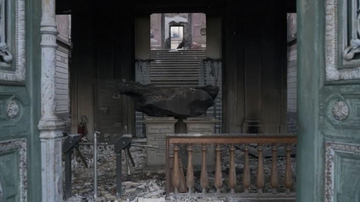 Požiar všetko zničil, v brazílskom múzeu zostali len meteority