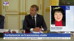 A. Vrbovská o turbulenciách vo francúzskej vláde