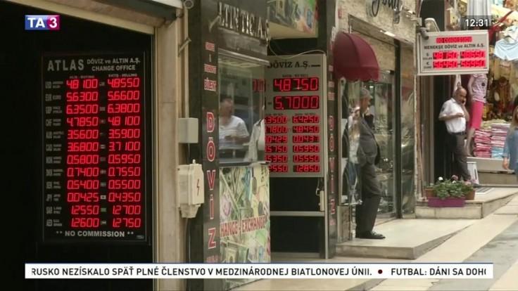 Rozvojové ekonomiky sú v kríze, najviac zasiahnuté je Turecko a Argentína