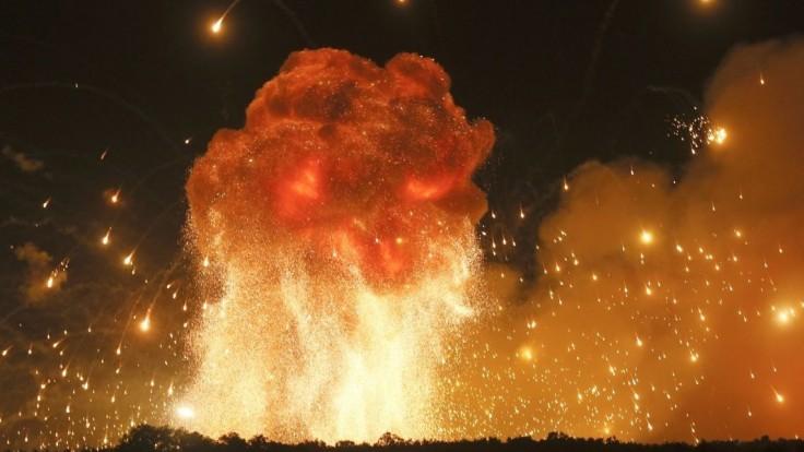 Vybuchla čerpacia stanica. Hlásia mnoho mŕtvych i popálených