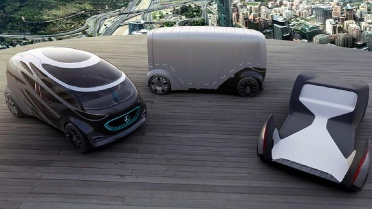 Vízia autonómnej mestskej mobility preváža ľudí alebo náklad