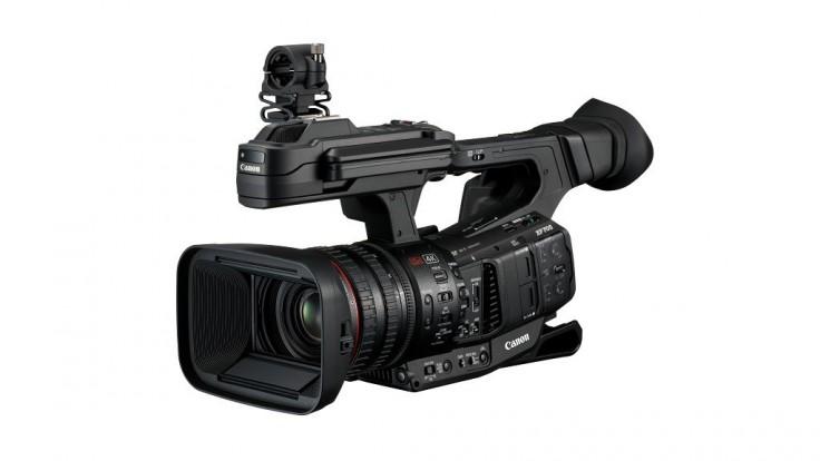 Videokamera Canon XF705 s podporou formátu novej generácie XF-HEVC