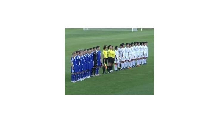 Slovenské futbalistky v príprave prehrali s KĽDR