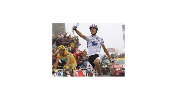 Andy Schleck dostal žltý dres pre víťaza Tour de France 2010