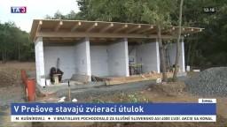 V Prešove rastie nový útulok, mesto rieši dlhoročný problém