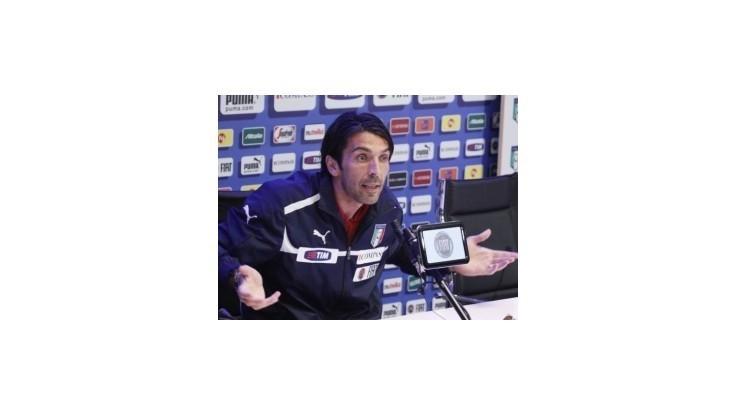 Buffon: Dvaja zranení sú lepší, ako jeden mŕtvy