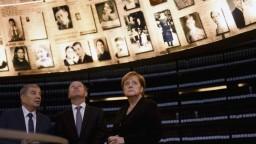 Čelili ste nenávisti neočakávaného rozsahu, povedala Merkelová v Izraeli