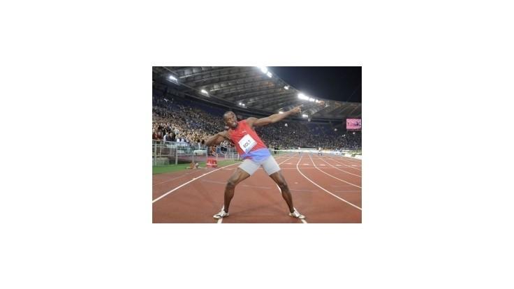 Bolt zažiaril v Ríme, v behu na 100 m vytvoril svetový výkon roka