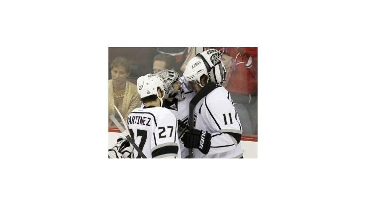 NHL: Kings zopakovali triumf po predĺžení a opäť zdolali Devils na ich domácej pôde