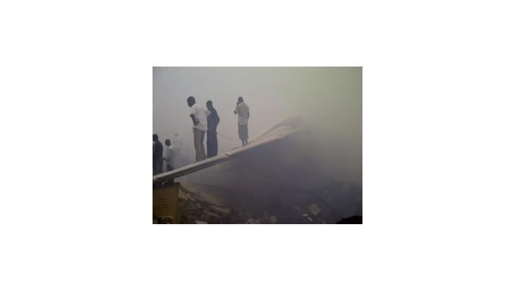 V Lagose havarovalo civilné dopravné lietadlo, neprežilo 153 pasažierov
