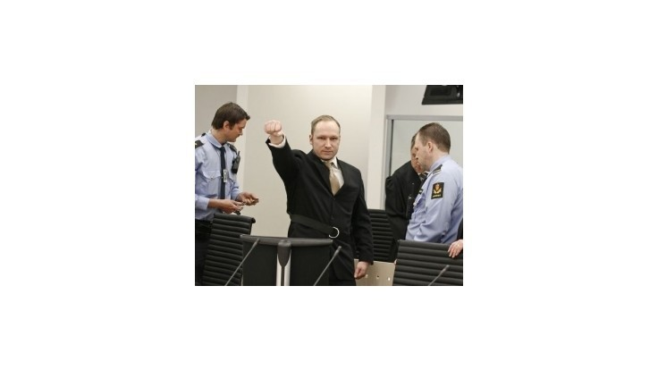 Breivik opisoval negatívne skúsenosti s moslimami z detstva