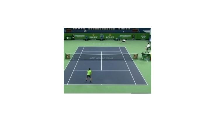 Osemfinále turnaja ATP v Šanghaji