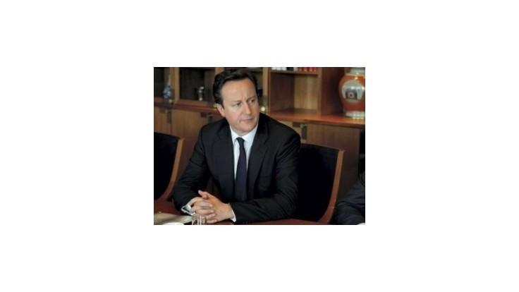 Cameron: Eurokríza je najväčšou hrozbou pre svetovú ekonomiku